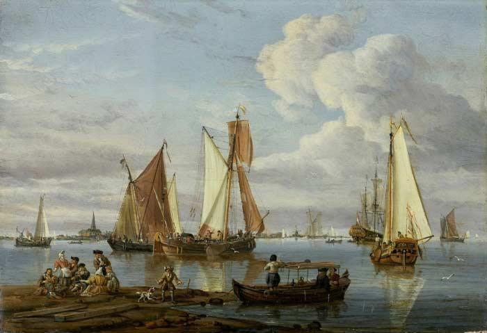 Корабель в порту